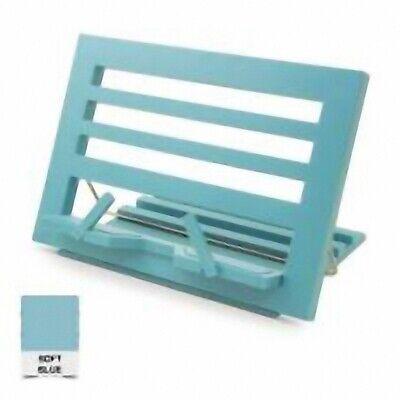 Brillante Libro / Tablet Lectura Resto Plegable Soporte - Suave Azul