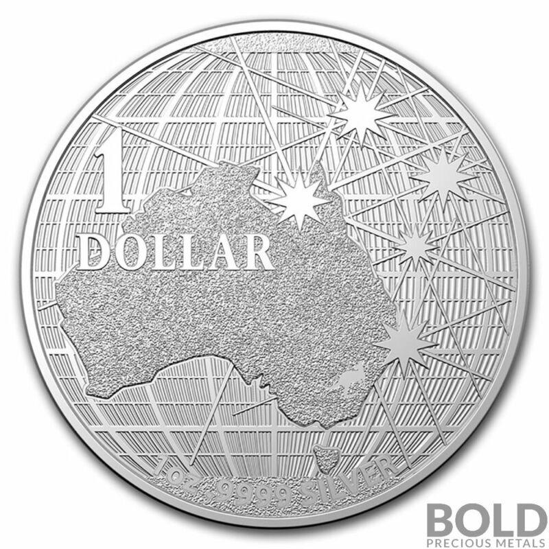 2020 Silver 1 oz Australia Beneath Southern Skies