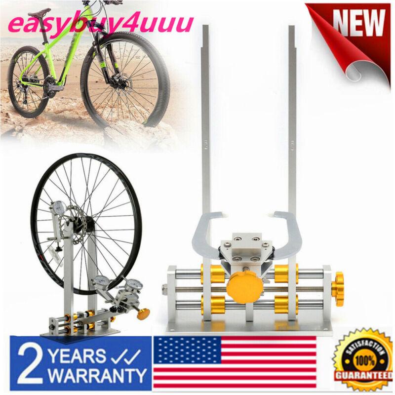 """10-29"""" Bicycle Wheel Maintenance Bearing Truing Stand Platform w/Repair Tool Kit"""