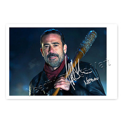 Jeffrey Dean Morgan alias Negan aus The Walking Dead - Autogrammfotokarte [AK3]