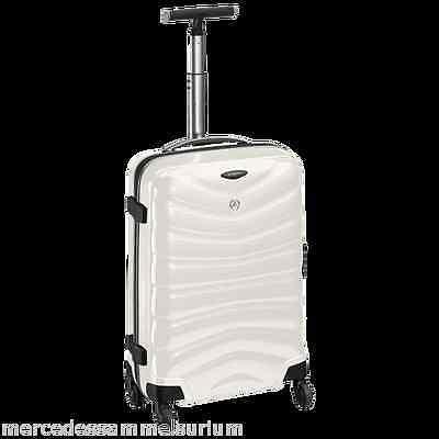 """Mercedes Benz Original Suitcase Samsonite """" Curv """" White 29 1/2x20"""