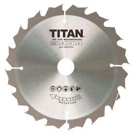 Titan TCT Circular Saw Blade 16T 150 x 10/12.75/20mm - BRAND NEW