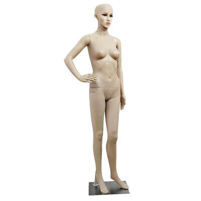 Female Mannequin Full Body Adjustable Mannequin Torso Dress Form With Metal Base