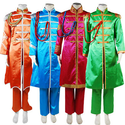 The Beatles Costume Sgt.Pepper's Lonely Hearts Cosplay Club Band Costume 4 Color - Pepper Costume