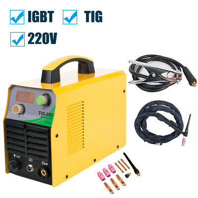 Digital Display Welding Machine Tig Welder 110220v Complete Accessories Set