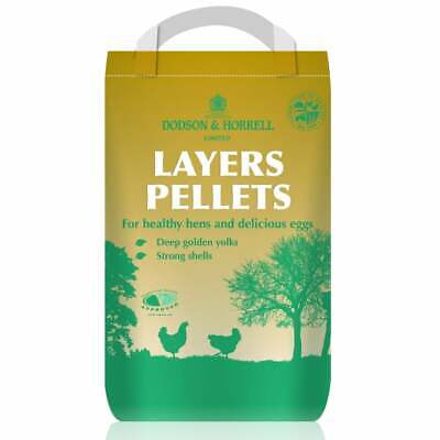20KG - Dodson & Horrell Layers Pellets Poultry Feed - For Healthy Hens - DH007