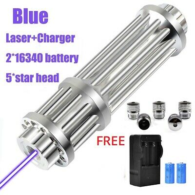 Blue Laser Pointer Pen Torch High Quality 450nm Flashlight Free Accessories