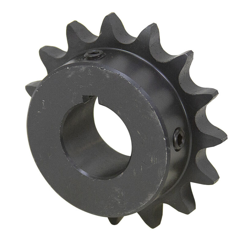 """12 Tooth 5/8"""" Bore 50 Pitch Roller Chain Sprocket 50BS12H-5/8 1-2124-12-B"""