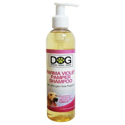 250ml Distinctive Original Grooming Dog Parma Violet Pamper Shampoo