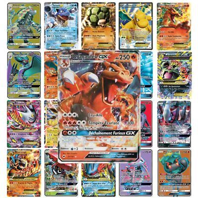 Lot 60 Cartes Pokemon GX Française - Mega EX Full Art Rainbow...