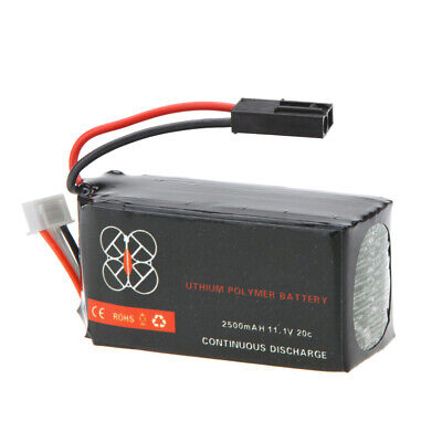 NEW Lipo Battery 11.1V 2500mah 20C for RC Parrot AR.Drone 2.0 Quadcopter US C3N0