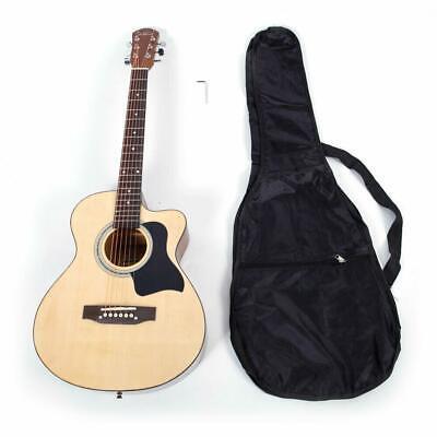 "Glarry GT304 38"" Practice Cutaway Spruce Basswood Acoustic Varnish Guitar"