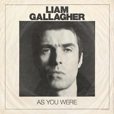 LIAM GALLAGHER AS YOU WERE VINYL LP (2017)