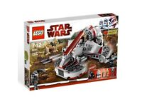 Lego Star Wars 8091 Republic Swamp Speeder complete with all 5 figures