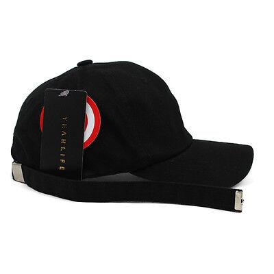 6b07154629d Unisex Mens Teamlife Long Strap Tail Baseball Cap Adjustable Trucker Hats  Black