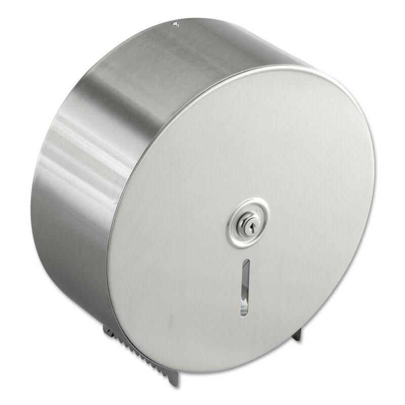 Bobrick Jumbo Toilet Tissue Dispenser Stainless Steel 2890 NEW