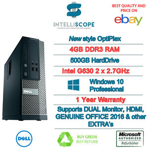SPEEDY-WINDOWS-10-DELL-OPTIPLEX-COMPUTER-DESKTOP-PC-INTEL-4GB-RAM-500GB-HDD-WIFI