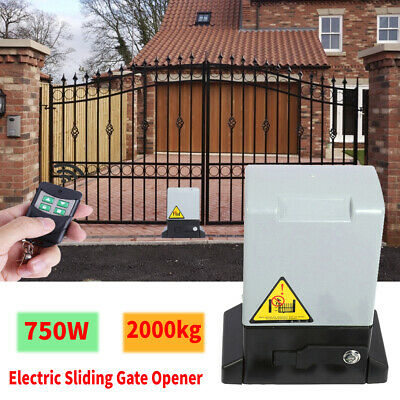 SLIDING GATE OPENER 2000KG AUTOMATION 750W MOTOR HEAVY DUTY DRIVEWAY SECURITY