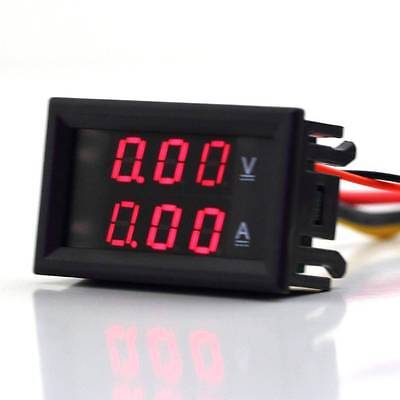 LED Digital Voltmeter Spannungsanzeige Amperemeter Strommesser 100v 10A