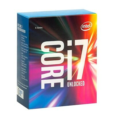 Brand New Sealed Intel Core I7 6800K 3.6GHz LGA 2011-V3 Intel Boxed Processor