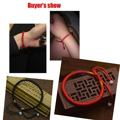 NEW Classic Red Kabbalah String Bracelet Lucky Wrap Adjustable Bracelet (String Bracelet)