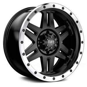 "17"" Tuff T16 Wheels&Tyre Nissan Land Hilux Wrangler Ranger Triton Ferntree Gully Knox Area Preview"
