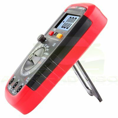 Auto Range Digital Lcd Capacitor Capacitance Tester Meter Lcd Data Hold New