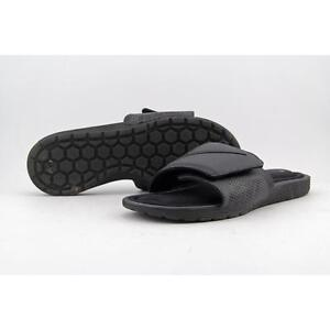 the best attitude f487d e0897 Mens Nike Solarsoft Comfort Slide 10 Black Flip Flop Sandal 705513 090