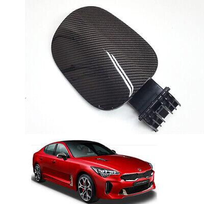Real Carbon Fiber Fuel cover Black Color OEM Parts For KIA Stinger 2018~2020+