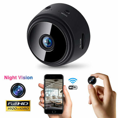 Mini Spy IP WIFI Camera 1080P HD Wireless Hidden Home Security DVR Night Vision