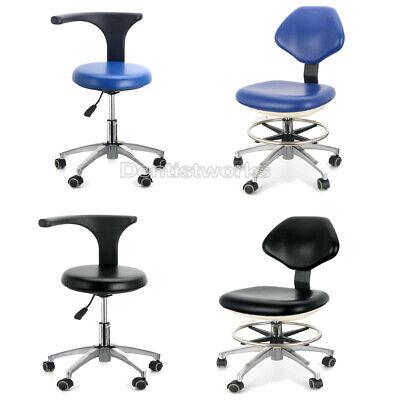 Dental Rotation Mobile Chair Adjustable 360 Stool Dentist Chair Pu Leather