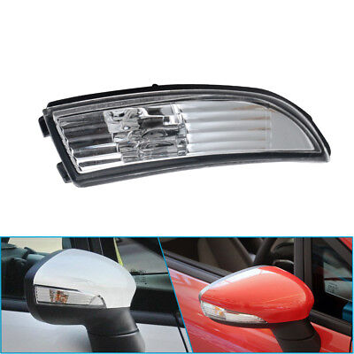 Wing Mirror Indicator Light Lens Cover Ford Fiesta 2008 14 UK Driver Side