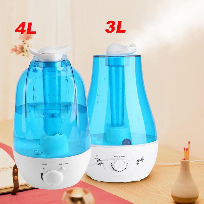 3/4L Ultrasonic Aroma Humidifier Air Diffuser Mist Purifier Lonizer Atomizer USA