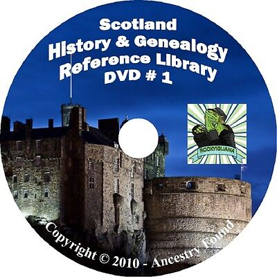228 old books  SCOTLAND History & Genealogy Family Tree Clans