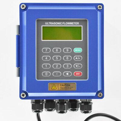 Ultrasonic Flow Meter Flowmeter Heat Meter Tuf-2000b High Temperature Transducer