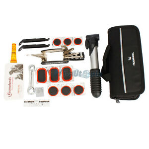 New-Bike-Bicycle-Cycling-Repair-Tools-Kit-Set-With-Bag-Pump-Multifunction-Useful