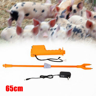 65cm Electric Catcher Prod Cattle Cow Hot Shot Handle Swine Proder Livestock Too
