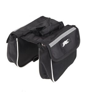 WD JSZ Cycling Bicycle Bike Frame Pannier Saddle Front Tube Bag Double Sides