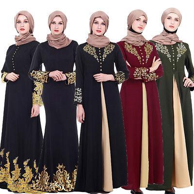 New Dubai Style Abaya Wedding Abayas Burka Farasha Jilbab Maxi Dress Kaftan Robe