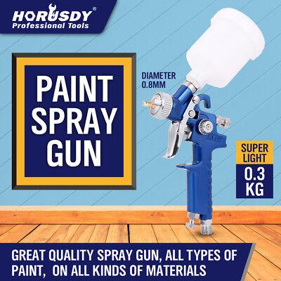 Mini Paint Gun (New Mini HVLP Air Spray Gun Auto Car Detail Touch Up Paint Sprayer Spot)