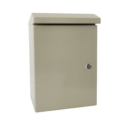 16 X 12 X 8 In Carbon Outdoor Steel Electrical Enclosure Cabinet Ip65