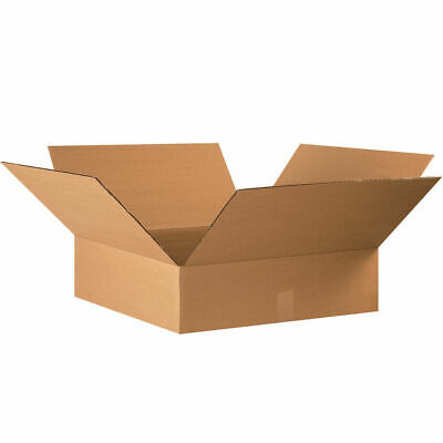 20 - 22 X 22 X 6 Corrugated Shipping Boxes Storage Cartons Moving Packing Box