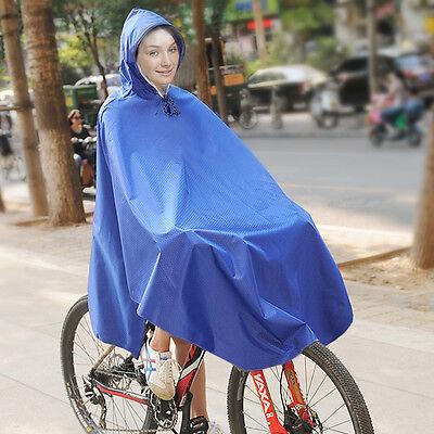 Regenponcho Regencape Fahrrad Jacke Regenschutz Regenmantel Herren Damen