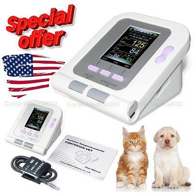 Veterinary Color Digital Blood Pressure Monitor Vetanimal Nibp Machineus Sell