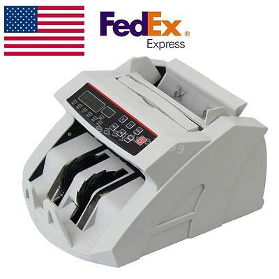 Usamoney Bill Currency Counter Counting Machine Counterfeit Detector Uv Mg Cash