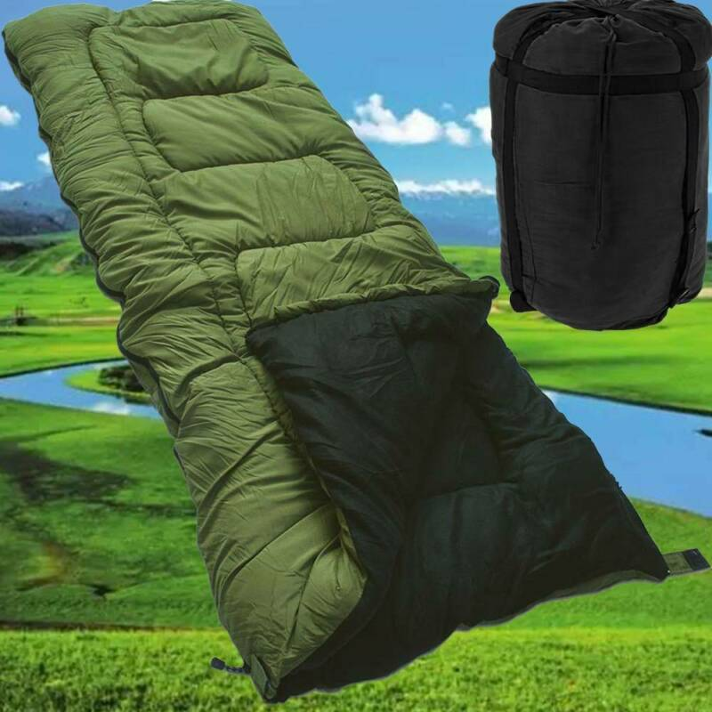 3//4 SEASON WATERPROOF OUTDOOR CAMPING HIKING CASE ENVELOPE SINGLE SLEEPING BAG