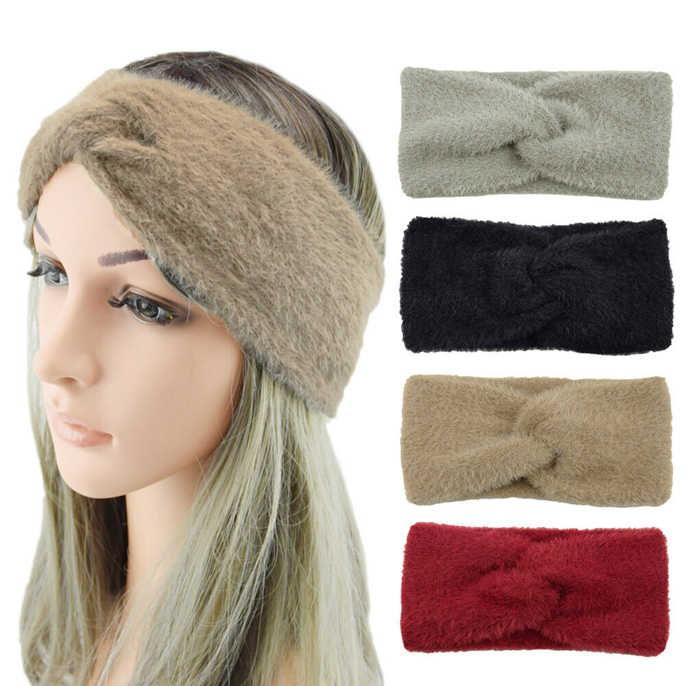 Women Headbands Paisley Printing Flower Bandana Bowknot Hair Band Girl Head Wrap