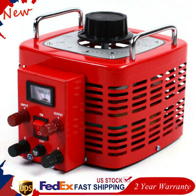 30amp 110v Ac Power Transformer Variac Variable Regulator 30a Metered 0-130v Usa