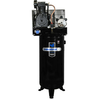 Industrial Air 5 Hp 60 Gal. Compressor Wcentury No Mag Starter Iv5076055 New