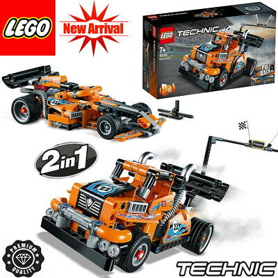 *NEWEST 2020* LEGO Technic Race Truck 42104 PULL BACK 2-in-1 MODEL UK 227 Pieces
